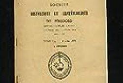 ABC antiquites beaux arts curiosites 26 avril 1975 tapis tunisiens – clefs et serrures des origines au XVeme siecle – yves Brayeur decorateur de theatre