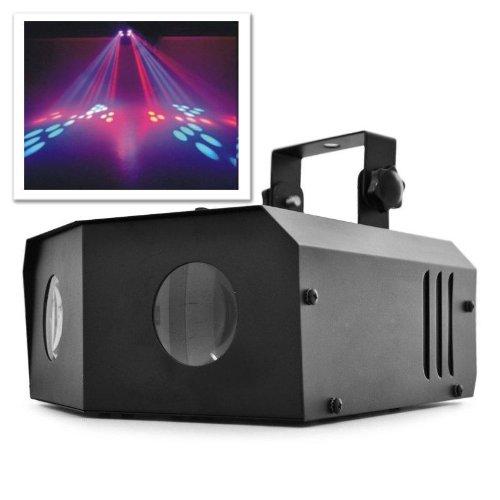Beamz Nomia Riflettore effetto luce DUAL MOONFLOWER faro LED luci discoteca (6 luci RGB,, microfono...