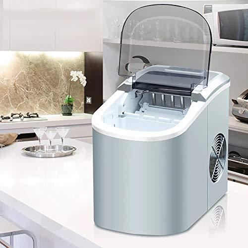 LW Ice Maker, Contro Parte Superiore Macchina del Ghiaccio Mini Automatic Ice Maker Elettrico...
