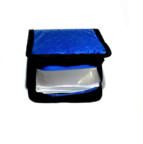 Nawani Pouch for 20 CD CDs Look Cover/Case/Folder/DVD DVDs, Size- 16/16 cm, Colour AS PER Stock Availability