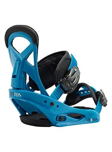 Burton Mission Smalls, Attacchi Snowboard Bambino, Blue Boy, S