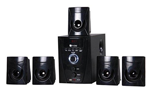Flow Flash 5.1 Multimedia Speaker Home Theater System,Black