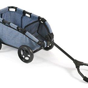 Bayer Chic 200066050–zieh Carro Skipper, Mano Carro para muñecas o Osos, Jeans Blue