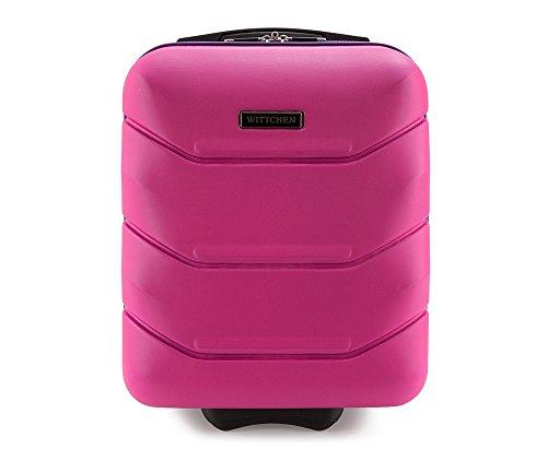 WITTCHEN Trolley Bagaglio a mano - Valigia rigida | Colore: Rosa | Materiale: ABS | Dimensioni:...