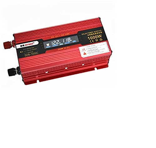 Z9CTHDF25JL Inversor de Coche / LCD 1000W Inversor de Energía del Coche / Pantalla 12V a 110V