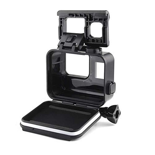 Yangers Custodia subacquea impermeabile per custodia protettiva per videocamera GoPro Hero 7 Black 6 5, copertura per gabbia di protezione subacquea in silicone con touch screen per porta posteriore