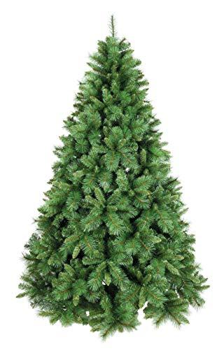 XONE Albero di Natale Pino Mix 240cm, Super Folto e Realistico   Albero Artificiale in PVC+ PP Effetto Aghi di Pino