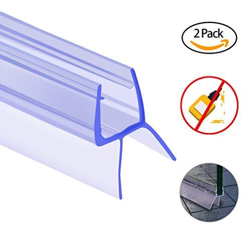 Oladwolf Duschdichtung, 2PCS 100cm Duschtür Dichtung Dusche Glastür für 6mm / 7mm / 8mm...