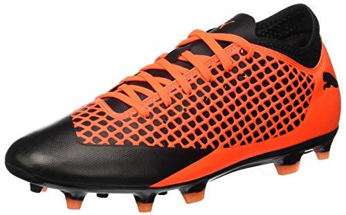 Puma Future 2.4 Fg/AG, Scarpe da Calcio Uomo, Arancione Black-Shocking Orange 002, 42 EU