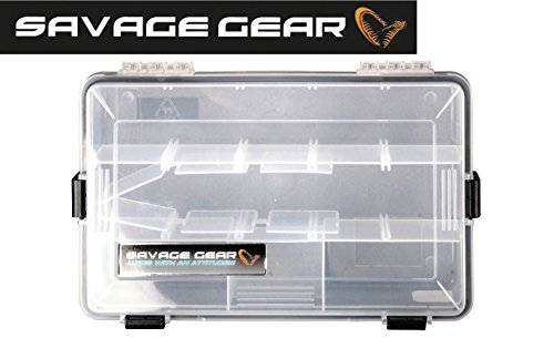 Savage Gear Lure Box 27.5x 18x 5cm impermeabile Angel box, Tackle Box, Esca richiamo BOX, pescatori, Box, Box, scatole per esche, Esche, Esche da Pesca