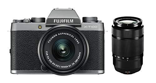 Fujifilm X T100con xc15-45mmf3.5-5.6OIS PZ + XC50-230mmf4.5-6.7OIS II...