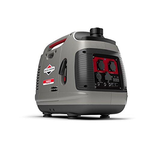Briggs & Stratton 30698 Generador Inversor Portátil de Gasolina, Gris, Medium
