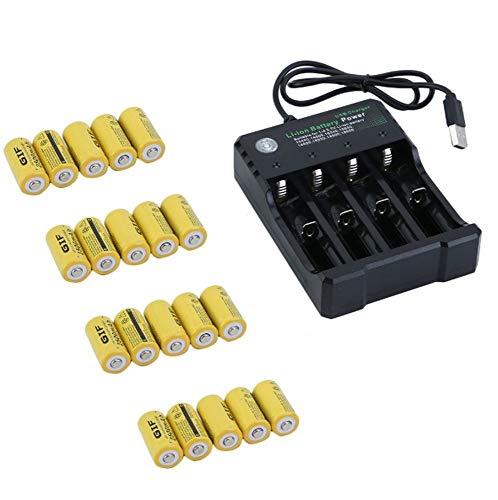Kit di batterie ricaricabili per Netgear Arlo Security Camera - 20 pacco batterie
