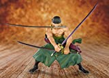 Bandai Tamashii Nations One Piece - Statuette FiguartsZERO Pirate Hunter Zoro 11 cm