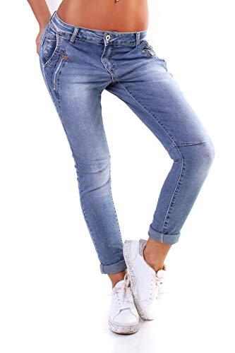 OSAB-Fashion 11294 Jewelly by Lexxury Damen Jeans Destroyed Slimfit...