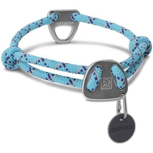 Ruffwear Collar de Cuerda para Perros, tamaño Grande, Color Azul, Nudo-a-Collar
