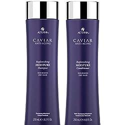 Alterna Caviar Replenishing Moisture Shampoo & Conditioner Duo (8.5 oz each) by Alterna