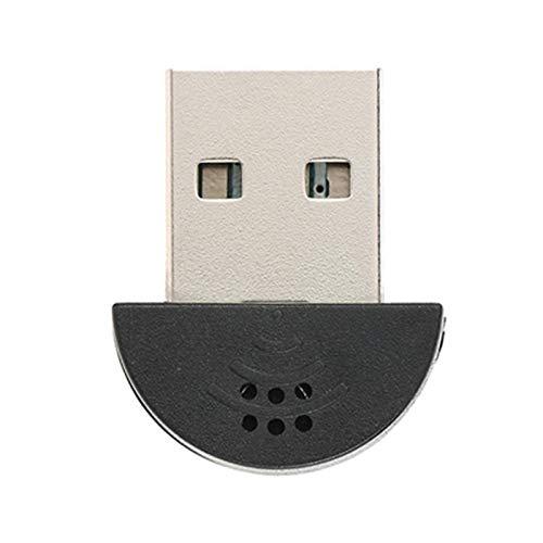 """Kinobo-Microfono USB 2,0 Mini """"Makio"""" microfono per computer portatile/PC Desktop, per Skype/VOIP/Software di riconoscimento vocale"""