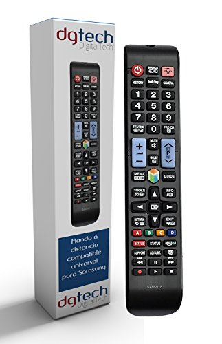 DigitalTech - Telecomando Universale per Smart TV 3D Samsung. Compatibile con più di 340 modelli di...