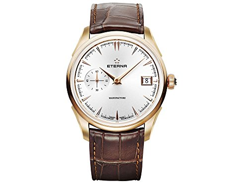 Eterna Heritage 1948 Legacy Small Second Automatik Uhr, Eterna 3030, 41,5mm