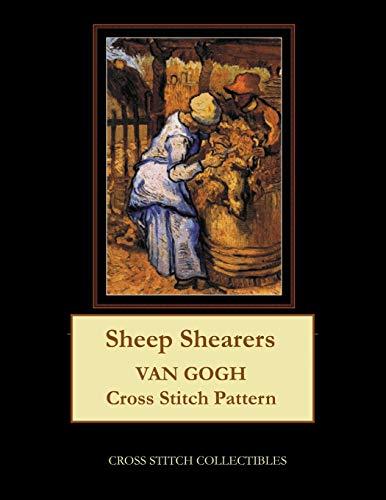 Sheep Shearers: Van Gogh Cross Stitch Pattern
