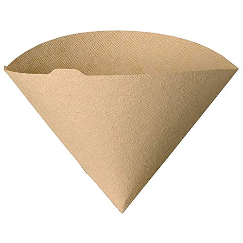 """Urban Platter V60 Natural Coffee Filter Paper, Size - 7"""" W x 5"""" H [100 Sheets, Coffee Sock, Disposable, Hario Compatible] 8"""