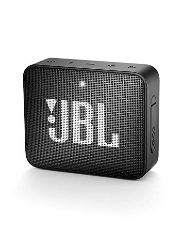 JBL GO 2 - Altavoz inalámbrico portátil con Bluetooth, color negro