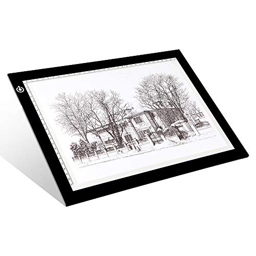 A4 Tracing Light Box - LitEnergy 9x12 pollici Light Pad Ultra-sottile solo 5mm tavolino di...