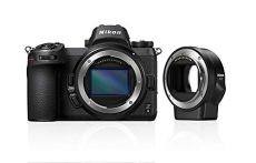 "Nikon Z6 - Cámara sin Espejos de 24.5 MP (Pantalla LCD de 3.2"", Sensor CMOS, resolución 4K/UHD, WiFi, Bluetooth) Negro - Kit Cuerpo con Adaptador de Montura FTZ"