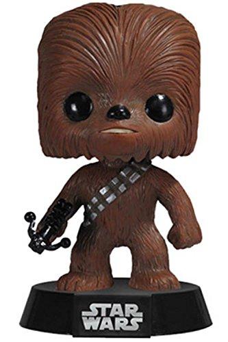 Funko - Figura con cabeza móvil Chewaca, Star Wars (PDF00003870)