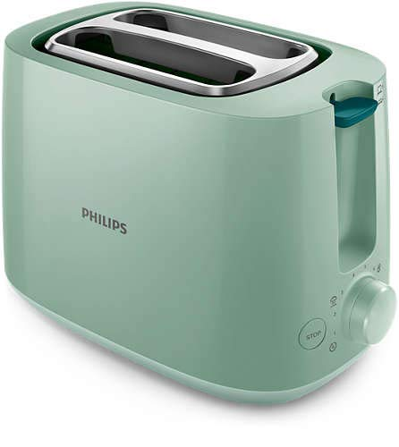 Philips HD2581/60 Tostapane colore verde, 800 W