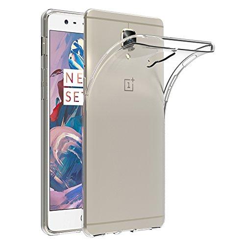 Funda OnePlus 3 / OnePlus 3T, AICEK OnePlus 3 / OnePlus 3T Funda Transparente Gel Silicona One Plus 3/ One Plus 3T Premium Carcasa para OnePlus 3 / OnePlus 3T