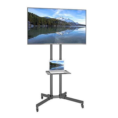 1home Mobile Supporto TV Carrello Montare Espositore da 32'-65' Plasma/LCD/LED