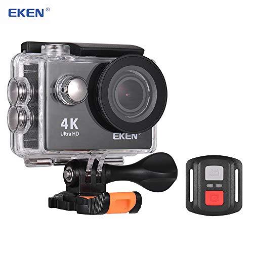 TOPTOO Telecamera azione EKEN H9R Ultra HD 4K Telecamera di controllo Wi-Fi impermeabile con telecomando da 2,4 G Foto 12MP grandangolare 2.0'IPS Schermo da 30 m Impermeabile Go Extreme Pro Cam