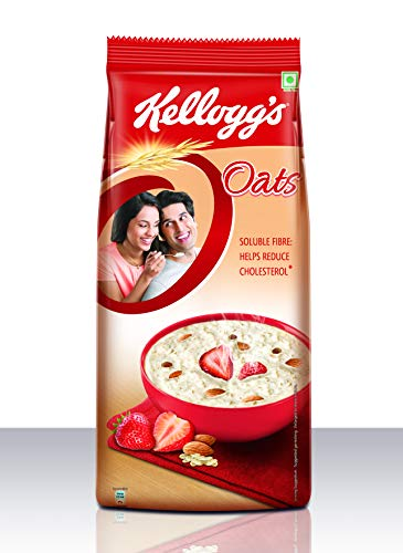 Kellogg's Oats, Rolled Oats | High in Protein and Fibre, 2kg Pack