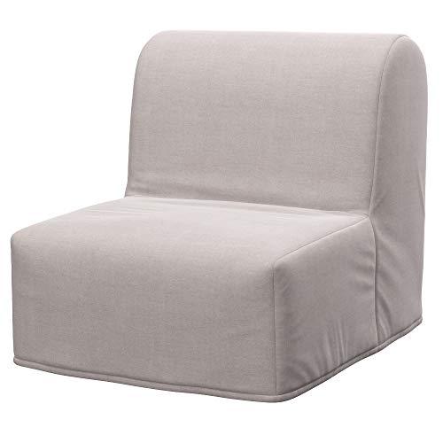 Soferia Fodera Extra Ikea LYCKSELE Poltrona Letto, Tessuto Elegance Beige