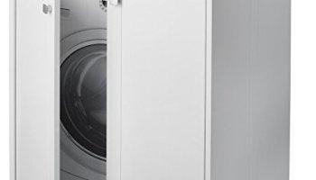 Coprilavatrice armadio mobile resina protezione lavatrice
