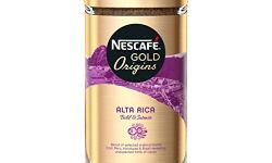 A photograph of the Nescafé Alta Rica instant coffee