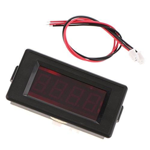 Totalizzatore Timer Digitale LED Conto Rovescia Elettronico Alluminio - Rosso