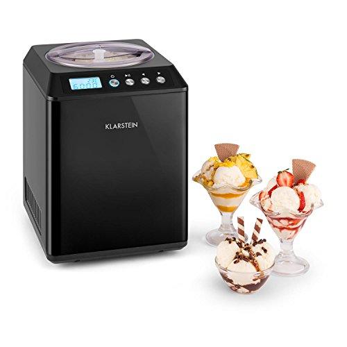 Klarstein Vanilly Sky Family • Gelatiera Frozen • Per Gelati e Yogurt • 2,5 Litri • Thermos...