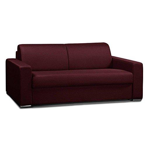 Karup Divano mã ridienne Bebop grigia chiara futon in tessuto patinata Cognac Vintage pelo 75*...