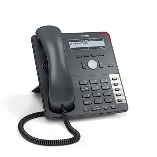 SNOM 710 Professionale Voip/SIP Telefono Business Display con Sensore Interruttore Retroilluminazione Ethernet Switch Hook 4 SIP Identità Ipv6; 2793