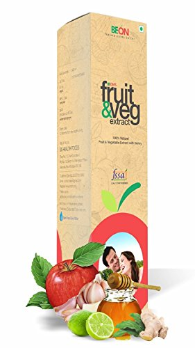 Be On Fruit & Vegetable Extract with Honey, 500 ml
