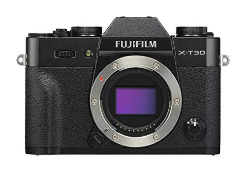 Fujifilm X-T30 Black Fotocamera Digitale a Ottiche Intercambiabili da 26MP, Sensore CMOS X-Trans 4...
