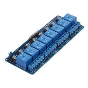 415hKRBBusL - kuman 5V 8 Canales Escudo Módulo de Relé para Arduino R3 1280 2560 ARM PIC AVR STM32 Raspberry Pi DSP K30