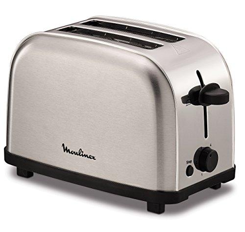Moulinex LT330D 2fetta/e 700W Acciaio inossidabile tostapane