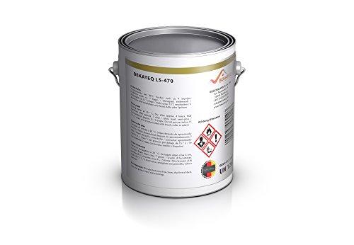 Bekateq LS-470 PU Bodenfarbe, seidenmatt RAL1001 Beige 2,5l, 1K Betonfarbe zur Beschichtung und Versiegelung von Beton, Mauerwerk, Stein, Putz und Kunstharz