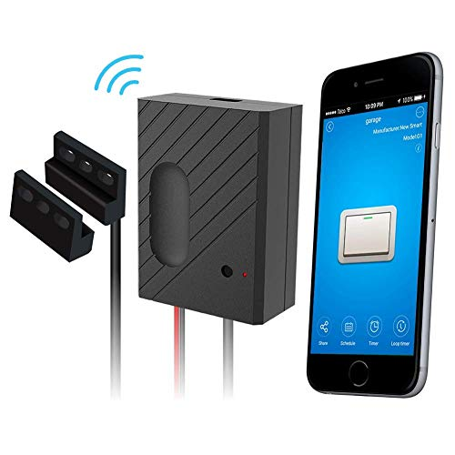 YUNlink Wi-Fi Remote garage door openers-control Using ewelink App, compatibile WITH Amazon Alexa, Google Home, and ifttt