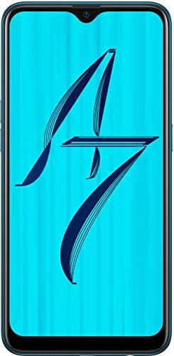 OPPO A7 (Glaze Blue, 4GB RAM, 64GB Storage) with Offer