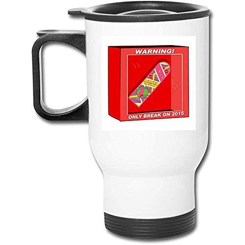 Ritorno al futuro Hoverboard Break nel 2015 Tazza da caffè in acciaio inossidabile a doppia parete...
